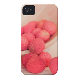 Pink Lychee Fruits In A Bowl  - Fruit Print Case-Mate iPhone 4 Case