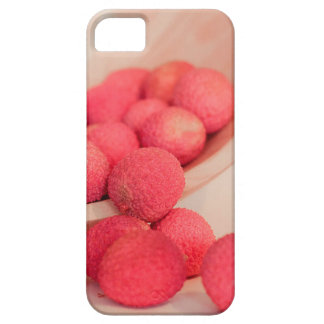 Pink Lychee Fruits In A Bowl  - Fruit Print iPhone SE/5/5s Case
