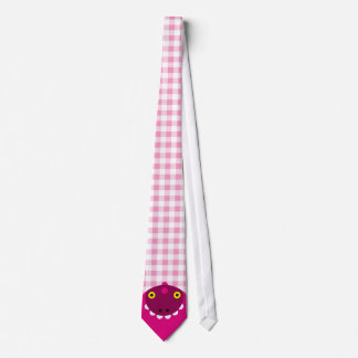 Pink Mad Dragon Neck Tie