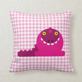 Pink Mad Dragon Pillows