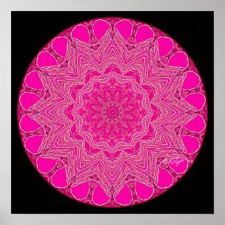 Pink-Magenta Mandala Posters