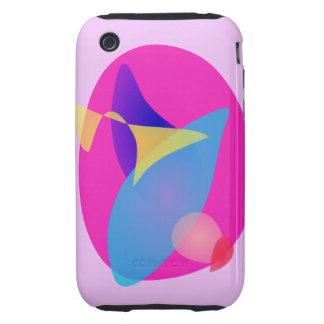 Pink Magic Mirror iPhone 3 Tough Covers
