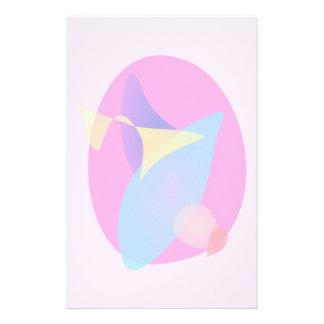 Pink Magic Mirror Stationery