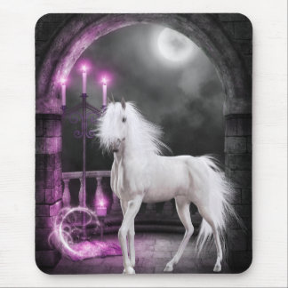 Pink Magical Unicorn Mouse Pad