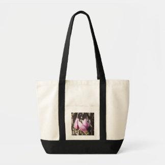 Pink Magnolia Blossom Tote Bag