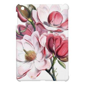 Pink Magnolia Case For The iPad Mini