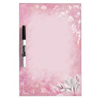 Pink Magnolia Dry Erase Whiteboards