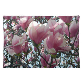 Pink Magnolia Flower Placemat
