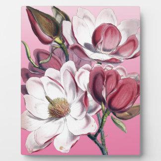 Pink Magnolia Plaque