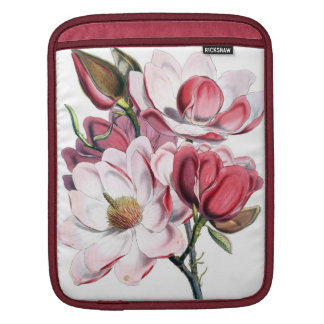 Pink Magnolia Sleeve For iPads