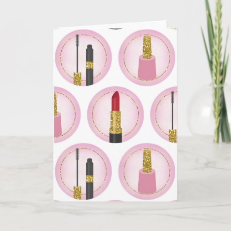 Pink & Gold Cosmetics