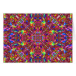 Pink Mandala Pattern Card