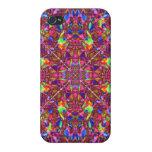 Pink Mandala Pattern iPhone 4 Cases