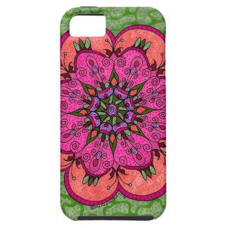 Pink Mandala Vibe iPhone Case