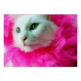 Pink Mane Card