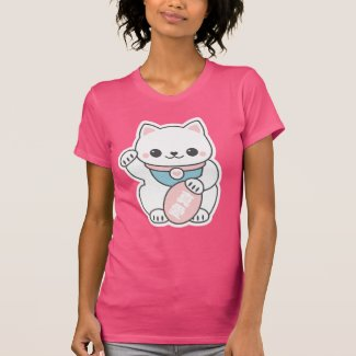 Pink Maneki Neko T-Shirt