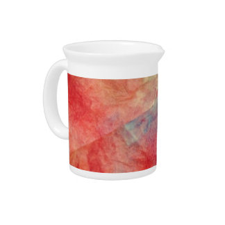 Pink Marble Beverage Pitchers