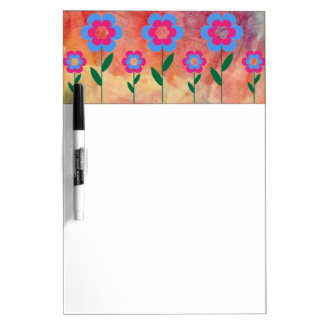 Pink Marble Dry Erase Board