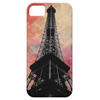 Pink Marble Eiffel Tower iPhone 5 Cae iPhone SE/5/5s Case