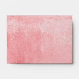 Pink Marble Envelope-A6 Envelope