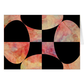 Pink Marble Greeting Card