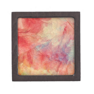 Pink Marble Keepsake Box