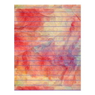 Pink Marble Letterhead