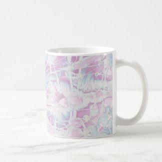 Pink Marble Pattern Mug