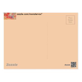 Pink Marble Postcard