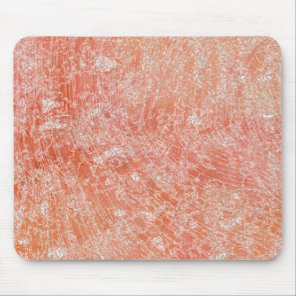 Pink Marble Print Mouse Pad