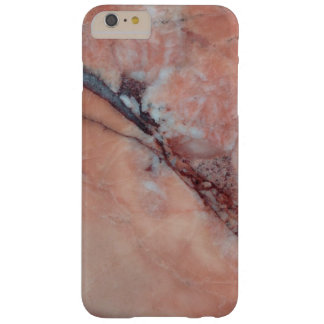 Pink Marble With Flaw Barely There iPhone 6 Plus Case