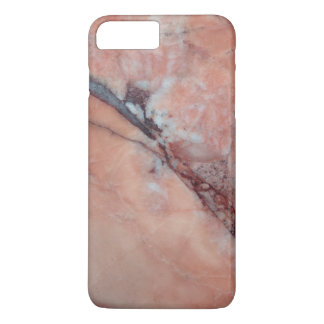 Pink Marble With Flaw iPhone 7 Plus Case