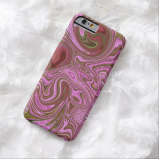 """""""PINK MARBLED"""" (DIGITAL MANIPULATION) BARELY THERE iPhone 6 CASE"""