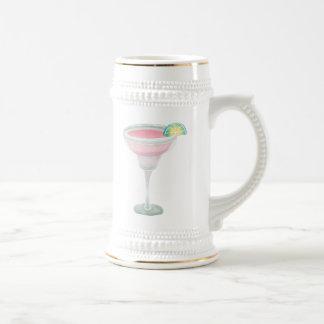 Pink Margarita Beer Stein