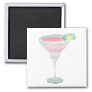 Pink Margarita Magnets