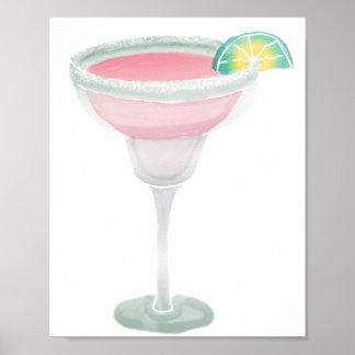 Pink Margarita Poster