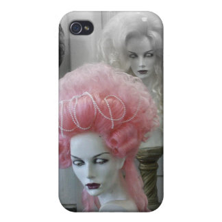 Pink Marie Antoinette Wig iPhone 4 Case