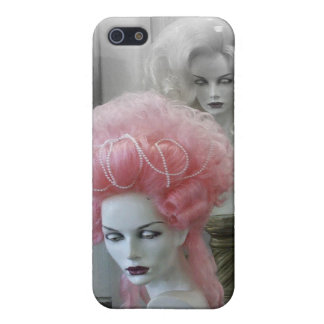 Pink Marie Antoinette Wig iPhone SE/5/5s Cover