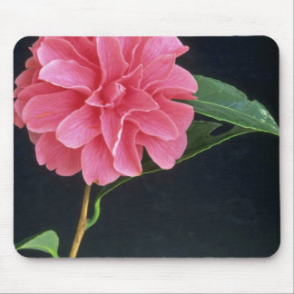 Pink Marigold Mouse Pad