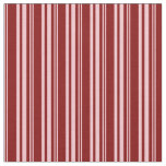 [ Thumbnail: Pink & Maroon Colored Striped Pattern Fabric ]