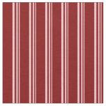 [ Thumbnail: Pink & Maroon Lines Pattern Fabric ]