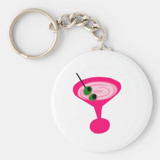 Pink Martini Keychain