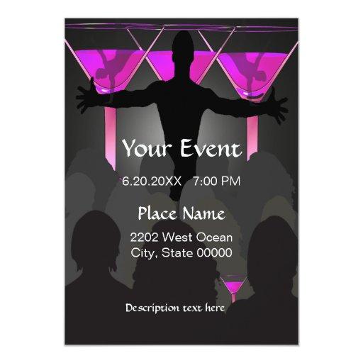 ladies night invitations - photo #11