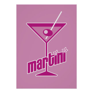 pink martini poster