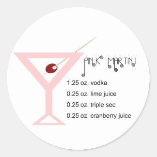 Pink Martini Stickers