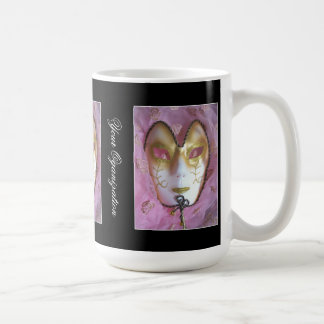 Pink Masque Coffee Mug