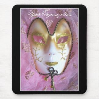 Pink Masque Mousepad