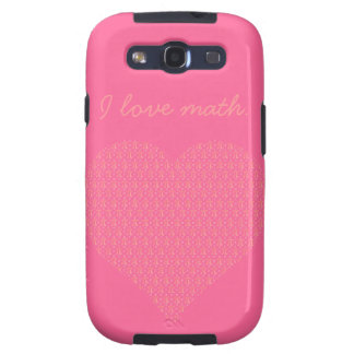 Pink Mathematics and Love Pi Galaxy SIII Cover