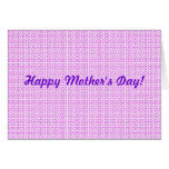 Pink Maze - Happy Mother's Day! Card