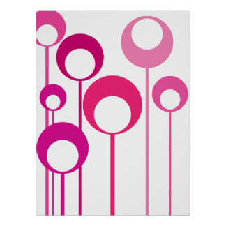 pink meadow_01 poster